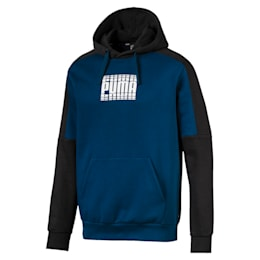 Rebel Block Men's Fleece Hoodie