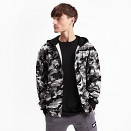 Rebel Camo Men's Full Zip Fleece Hoodie