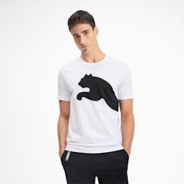 Big Logo Men's Tee, Puma White, small