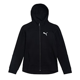 Evostripe Hooded Jacket, Puma Black, small-IND
