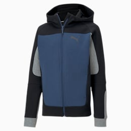 Evostripe Hooded Boys' Jacket
