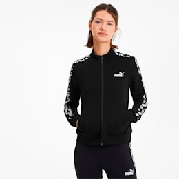 Amplified Women's Track Jacket, Puma Black, small