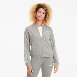 Amplified Track Jacket TR, Light Gray Heather, small-IND