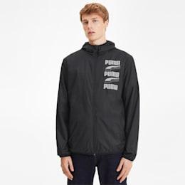 Essentials Rebel Men's Windbreaker, Puma Black, small