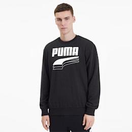 REBEL Bold Herren Sweatshirt, Puma Black, small