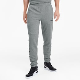 Amplified Training Men's Sweatpants, Medium Gray Heather, small