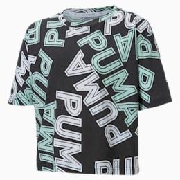 T-shirt da ragazza Modern Sports