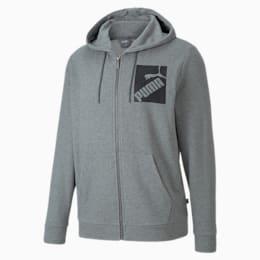 Big Logo Men's Full Zip Hoodie