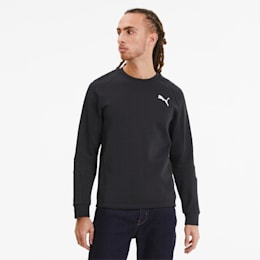 Evostripe Long Sleeve Men's Jersey, Puma Black, small-SEA