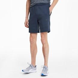 Evostripe Men's Shorts, Dark Denim, small