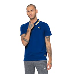one8 Men's Stylised Polo, Gibraltar Sea Heather, small-IND