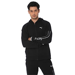 one8 Men's Hooded Track Jacket
