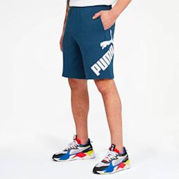 Big Logo Men's Shorts, Dark Denim, small