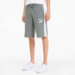 Iconic T7 Men's Shorts, Medium Gray Heather, small