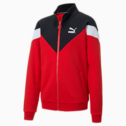 Iconic MCS Jungen Trainingsjacke, High Risk Red, small
