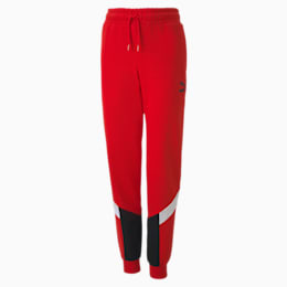 Iconic MCS Boys' Track Pants, High Risk Red, small
