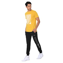 one8 Men's Knitted Pants, Puma Black, small-IND