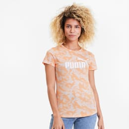 Essentials+ Women's Graphic Tee, Cantaloupe, small