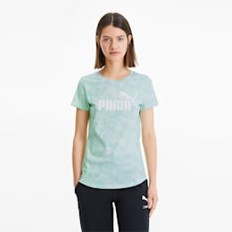 Essentials+ Women's Graphic Tee, Mist Green, small