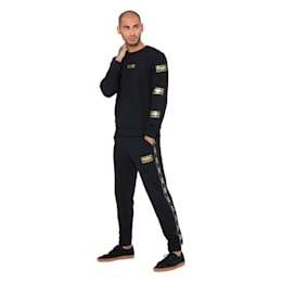 Holiday Pack Long Sleeve Men's Sweat Pullover, Cotton Black, small-IND