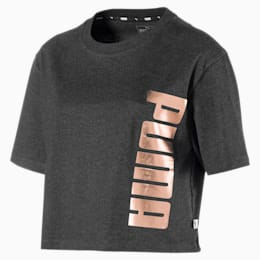 Holiday Pack Graphic Short Sleeve Women's Tee, Dark Gray Heather, small-IND