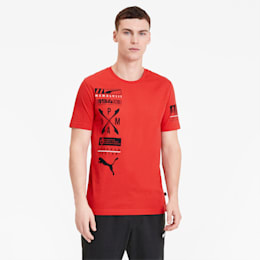 Advanced Graphic Men's Tee, High Risk Red, small-SEA