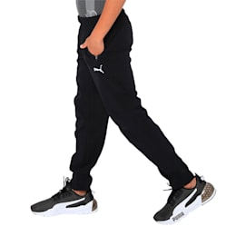 one8 VK Kids' Active Pants, Puma Black, small-IND