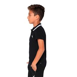 one8 VK Kids' Stylized Polo, Puma Black, small-IND