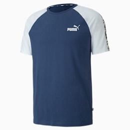 Camiseta con mangas raglán Amplified para hombre, Dark Denim, pequeño
