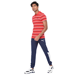 Essentials Short Sleeve Men's Polo Shirt, High Risk Red, small-IND