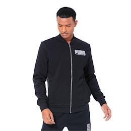 Long Sleeve Men's Sweat Jacket