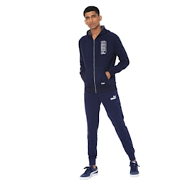 Athletics Fleece Zip-Up Men's Hoodie