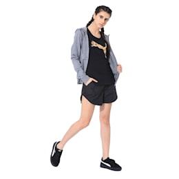 Womens Graphic Shorts I, Puma Black, small-IND
