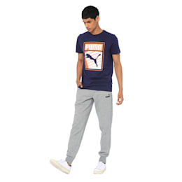 Mens Graphic Tee I, Peacoat, small-IND