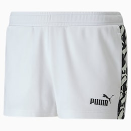 Amplified Women's Shorts, Puma White, small
