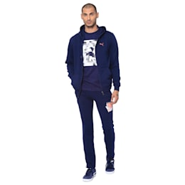 Mens Graphic Sweat IV, Peacoat, small-IND