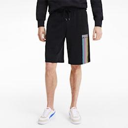 Celebration Men's Shorts, Cotton Black, small