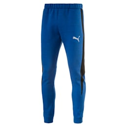 Active Men's Evostripe SpaceKnit Pants, TRUE BLUE Heather, small-IND