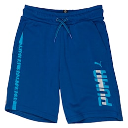 Boys' Bermuda Shorts, TRUE BLUE, small-IND