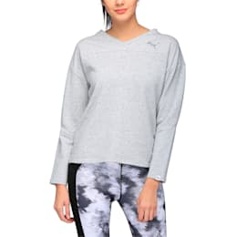 Women's Swagger Sweater, Light Gray Heather, small-IND