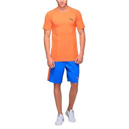 "Formstripe Mesh Shorts 10"", French Blue-Vibrant Orange, small-IND"