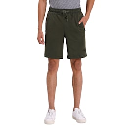 Zippered Jersey Shorts 8