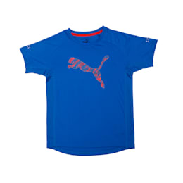 Boys' Rapid Graphic T-Shirt, Lapis Blue, small-IND
