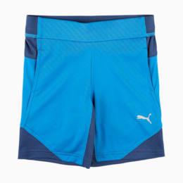 Boys' Gym Poly Shorts, Lapis Blue, small-IND