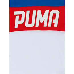 Boys' T-Shirt, Puma White, small-IND