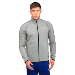 Active Men's Evostripe Ultimate Jacket, Medium Gray Heather, small-IND