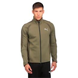 Active Men's Evostripe Ultimate Jacket, Olive Night, small-IND