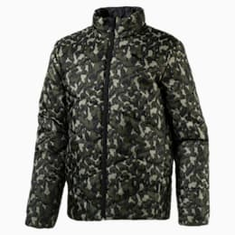 ESS PADDED JACKET AOP, -Olive Night AOP, small-IND