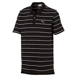 Sports Stripe Pique Polo