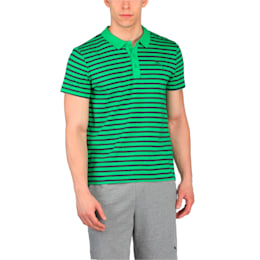 ESS Striped Jersey Polo